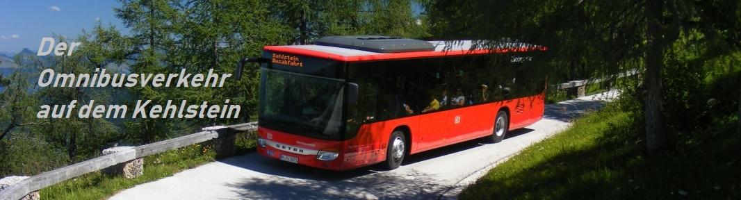 Der Omnibusverkehr auf dem Kehlstein